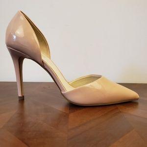 Aldo pale pink women's heels size 7.5m